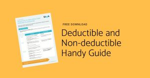 Deductible and Non-deductible Handy Guide